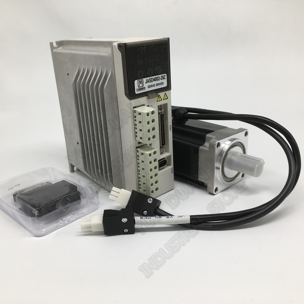 JMC 200W AC Servo 3000RPM 0.64Nm Constant torque 60mm 220VAC 60 Motor Driver Kits For Cutting lathe router marking welding Robot