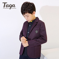 New 2016 High Quality Casual Suits Boys Fashion Style Jackets Children Wedding Blazers for Boys 2 bottons Formal jackets spring