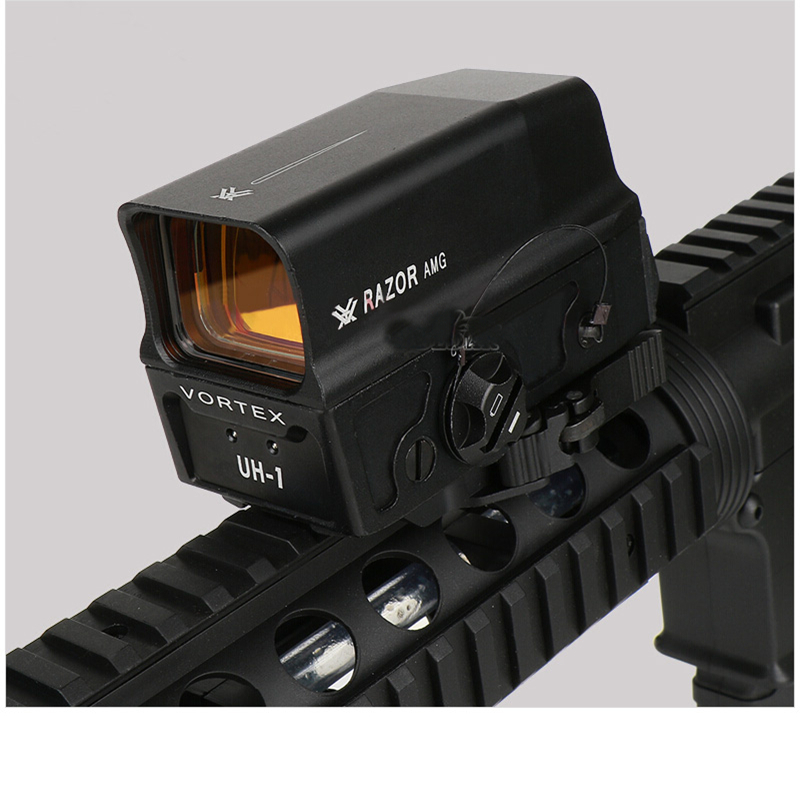 SEIGNEER Tactical  UH1 Rechargeable Metal Red Dot Holographic Sight For Hunting
