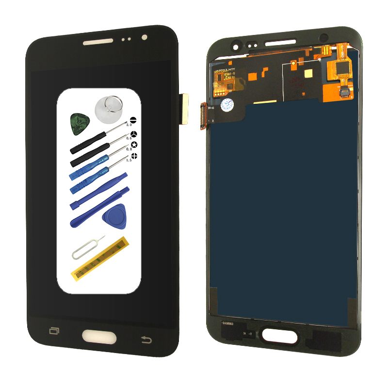 Adjustable J320 J320F LCD digitizer Touch screen with Adhesive tool replacement for samsung galaxy j3 2016 DisplayAdjustable J320 J320F LCD digitizer Touch screen with Adhesive tool replacement for samsung galaxy j3 2016 Display