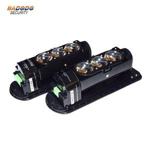 Image 1 - 3 Beams 250m waterproof IP55 Active Infrared Laser Beam Sensor Motion Detector Active Infrared Sensor outdoor Home Alarm System