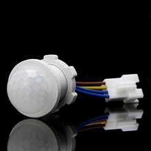 25mm PIR Infrared Motion Sensor Switch LED Indoor Light Sensing Switch for Porch Light Sensors Approx 25X35mm
