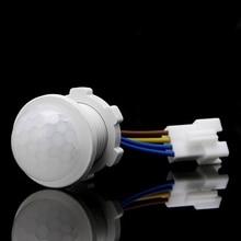 25mm PIR Infrared Motion Sensor Switch LED Indoor Light Sensing Switch for