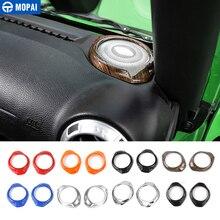 MOPAI ABS салона столб динамик украшения крышка отделка наклейки для Jeep Wrangler 2015 до стайлинга автомобилей