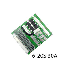 3.7V /3.2V 6S/7S/10S/13S/20S/6-20S 30A BMS Board /Li-ion Battery Protective board/Lifep04 battery protection board