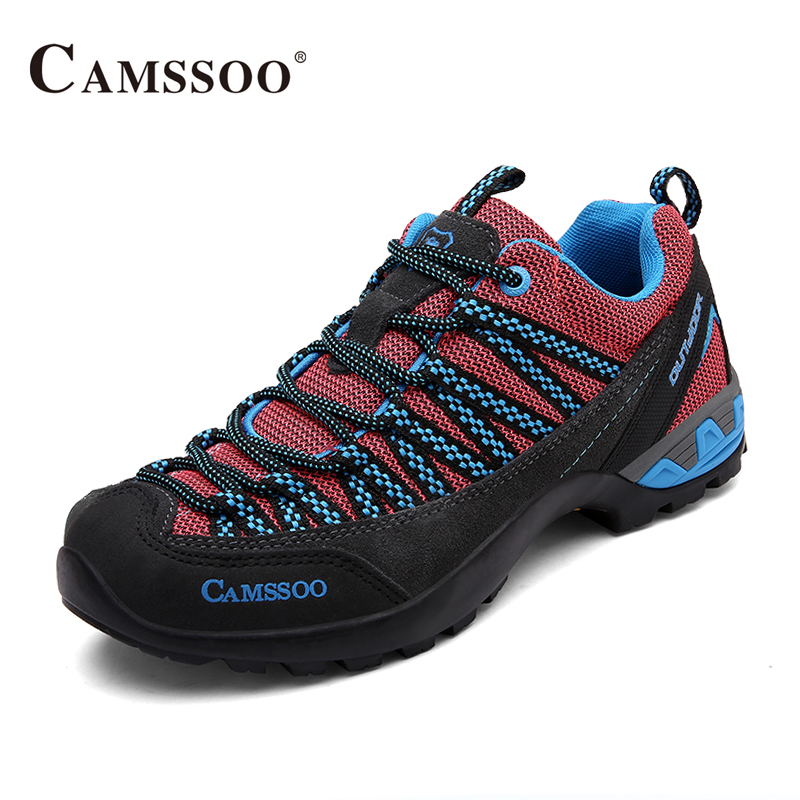 Camssoo Walking Shoes Brand Men Comfortable Cushioning Sport Sneakers Good Quality Outdoor Shoes AA40366