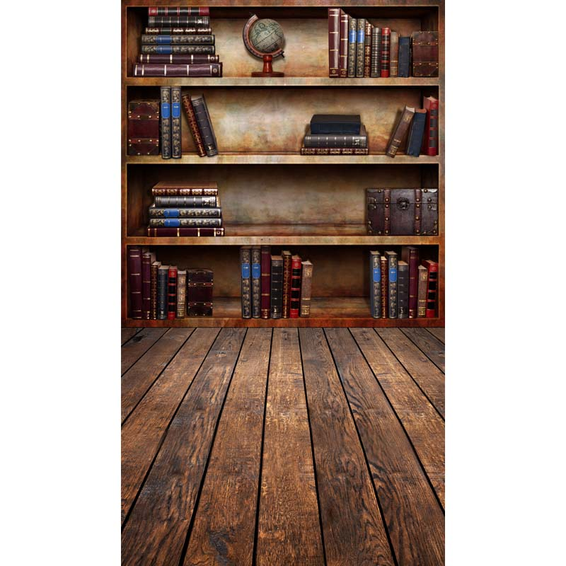 Wooden Photography Backdrops 8x8ft Retro Bookshelf Props Portrait Photo Studios Background Vinyl Backdrop Cloth In From Consumer Electronics On
