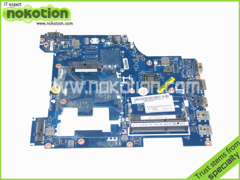 Фото NOKOTION 11S90000582 laptop motherboard for lenovo ideapad G585 N585  QAWGE LA-8681P EM1200 DDR3 free shipping. Купить в РФ