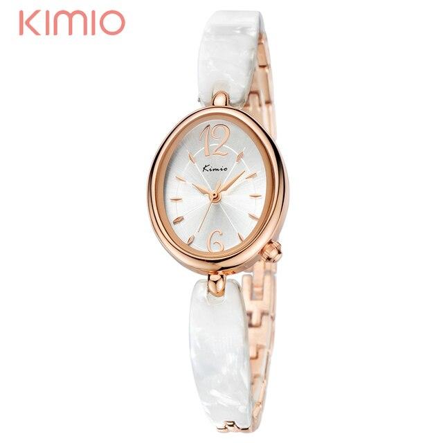 2017 KIMIO Watches Women Brand Luxury Wristwatch With Crystal Quartz  Bracelet Watches For Girls Lady Clocks 815af5f3bf3d