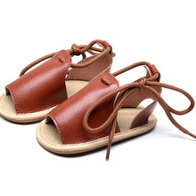 New Lace-up Baby Casual Shoes For Girls Boys Infant Sandals