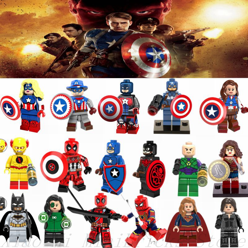 Conscientious Single Star Wars Super Heroes Marvel Spider-man Deadpool Building Blocks Models Bricks Hobby Toys For Children Kits Gift Toys & Hobbies Blocks