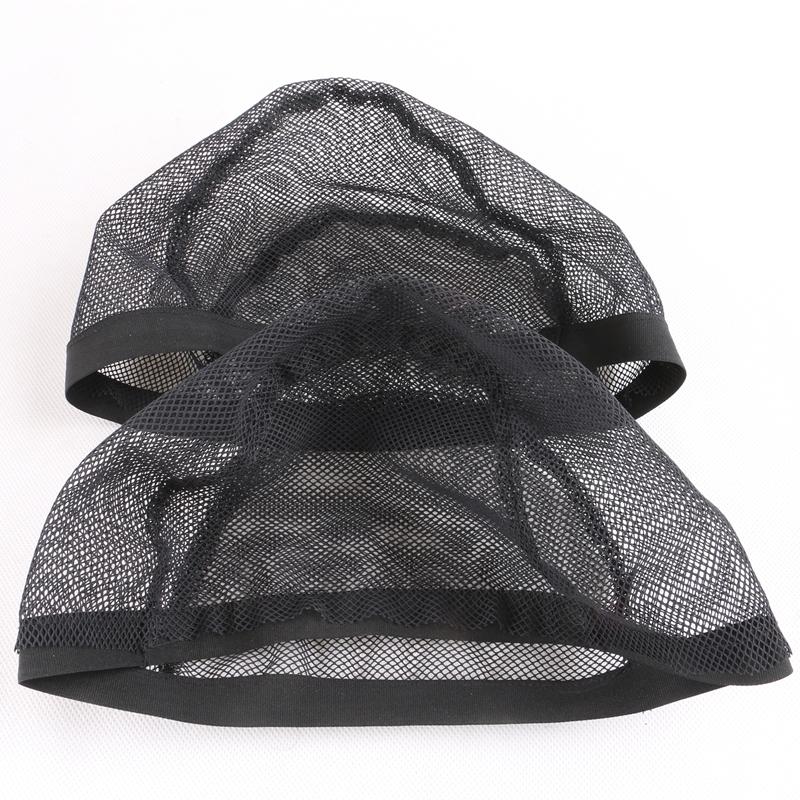 Black Stretchable Elastic Hairnets Wig Cap 3