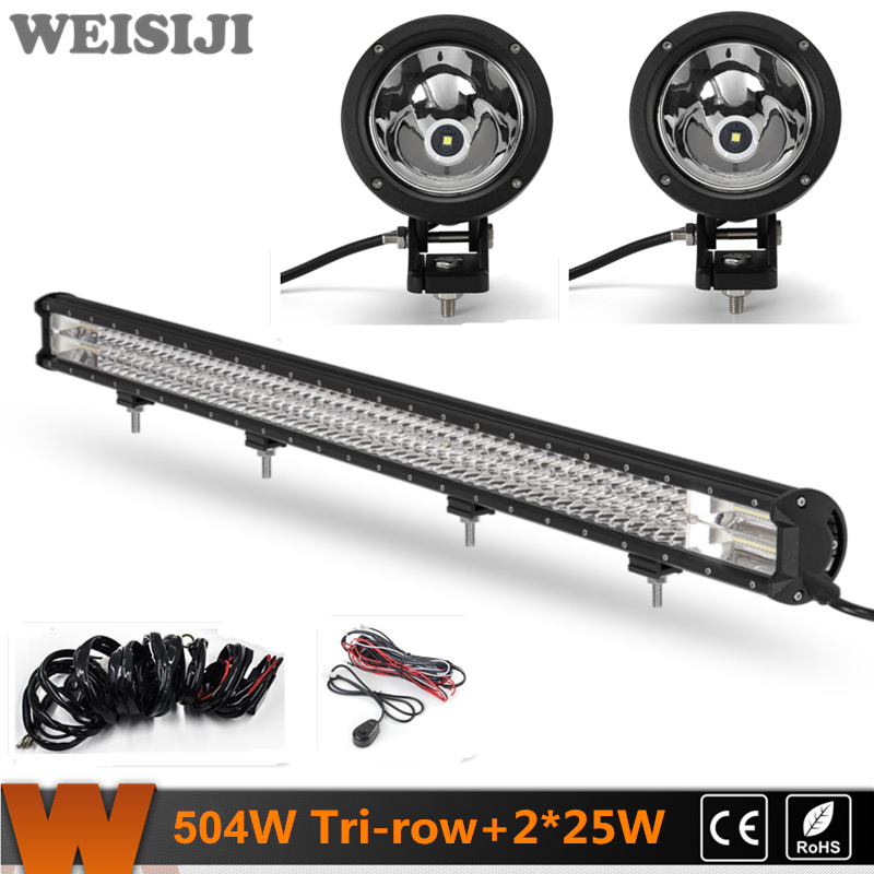 led light panel camera light promotion shop for promotional led weisiji 1pcs 504w tri row led light bar 2pcs 25w hot circle led work lights 2 wiring kits super power set for jeep suv atv