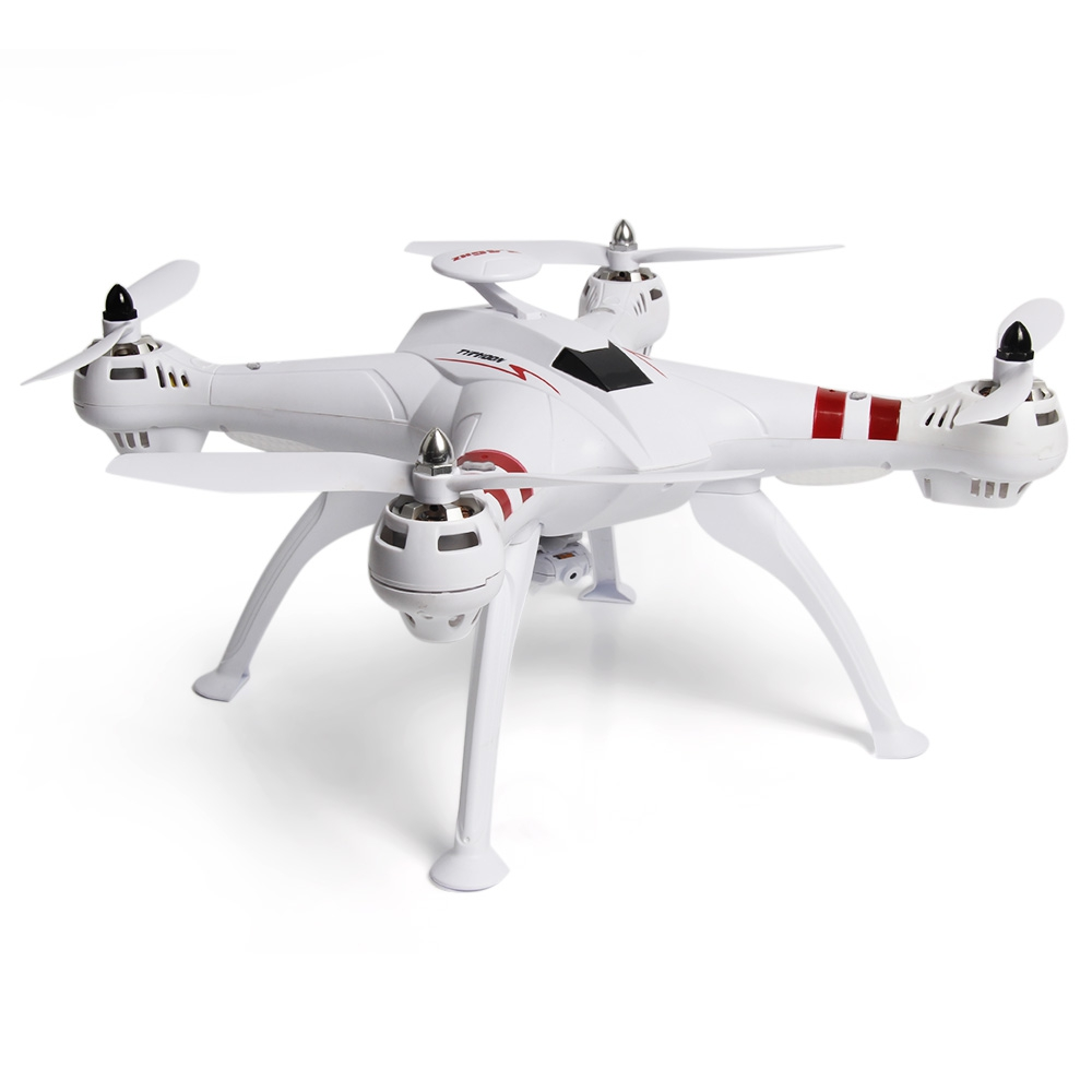 BAYANGTOYS X16W WiFi FPV 2.0MP CAM RT Quadcopter 2.4G 4 Channel 6 Axis Gyro Altitude Hold Brushless Motor Night Flight Drone mjx x601h wifi fpv 720p cam air pressure altitude hold 2 4ghz app control 4 channel 6 axis gyro hexacopter 3d rollover