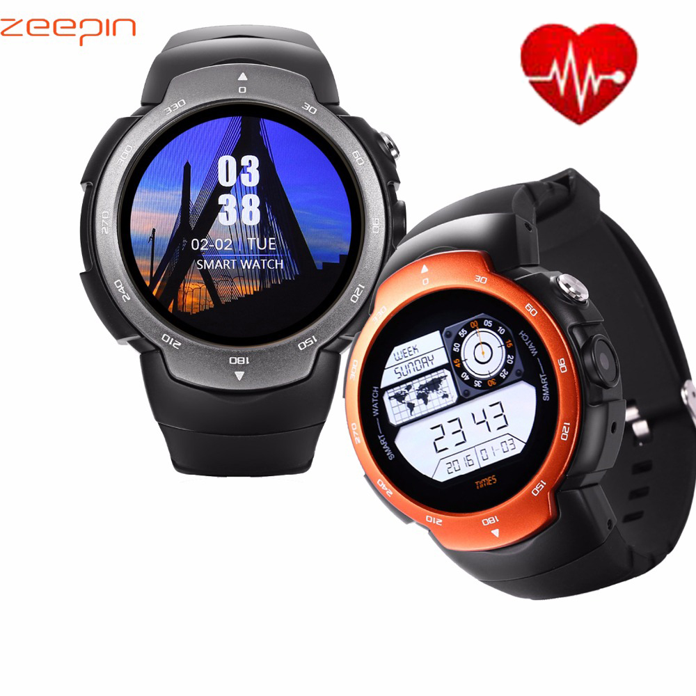 Zeepin Blitz Smartwatch Android 5.1 3G GPS MTK6580 Waterproof Quad Core Single camera Watch Phone Heart Rate Monitor For Android цена и фото