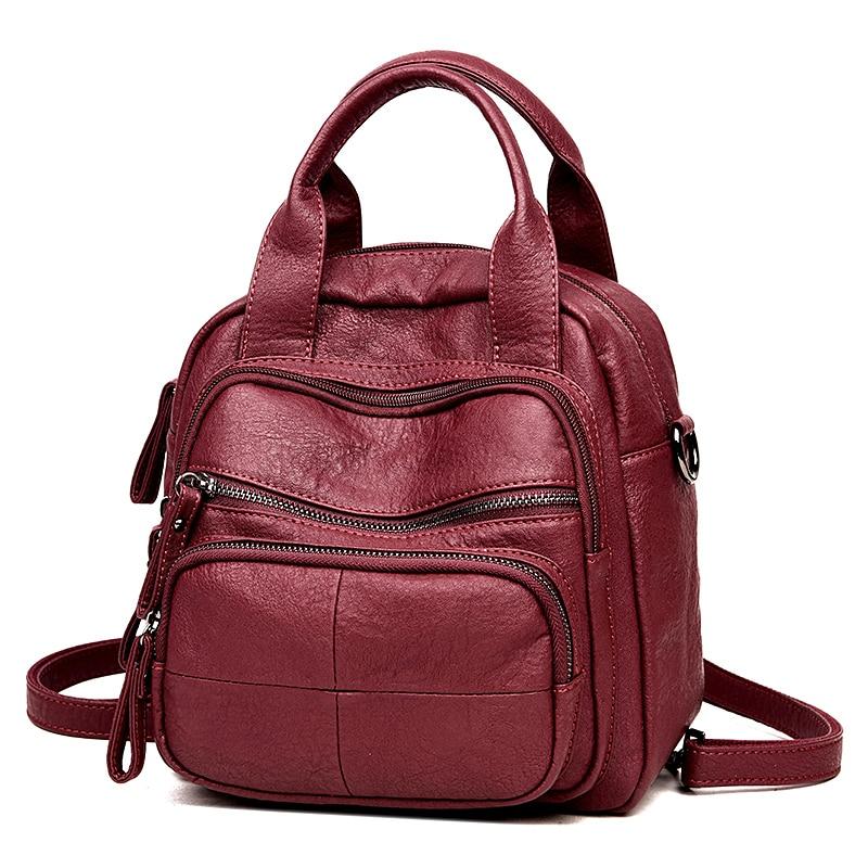 womens backpacks High Quality Leather College student schoolbag girls small backpacks women travel bag mochila bolsas femininaswomens backpacks High Quality Leather College student schoolbag girls small backpacks women travel bag mochila bolsas femininas