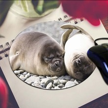 Seals Round 200*200*2mm Mouse Pad Mousepad Computer PC Laptop Comfort Gaming Mouse Pad