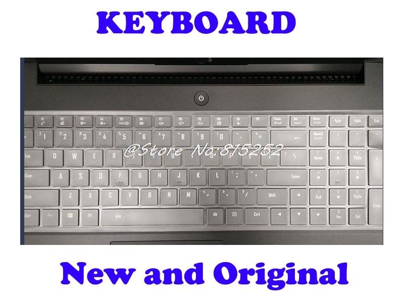 Teclado portátil Para Gigabyte Para AERO 14 15 15X Estados Unidos EUA Inglês Com Quadro Preto E Colorido Retroiluminado