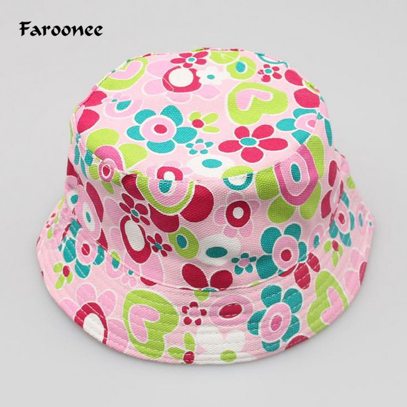 8de83ca369b Detail Feedback Questions about Outdoor Children Floral Bucket Hat Panama  Cap Cute Cotton Girls Boys Summer Beach Fedora Cap Fisherman Cap  Accessories ...
