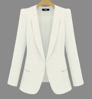 2019 New Plus Size Womens Business Suits Spring Autumn All match women Blazers Jackets Short Slim long sleeve Blazer Women Suit