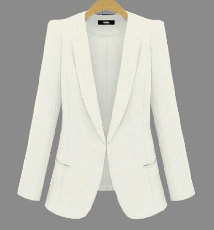 2019 Neue Plus Größe Damen Business Anzüge Frühling Herbst Allgleiches Frauen Blazer Jacken Kurze Schlanke Lange-sleeve Blazer Frauen Anzug