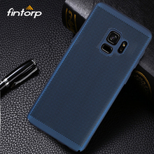 Fintorp Case For Samsung Galaxy S9 S8 Plus S7 S6 Edge Note 8 5 C9 C7 C5 Pro Heat Dissipation Cases for OnePlus 5 6 Hard PC Cover ultra thin soft tpu gel original transparent case for samsung galaxy s6 s7 s8 s9 edge plus note 5 8 9 c5 c7 c8 c9 c10 pro case
