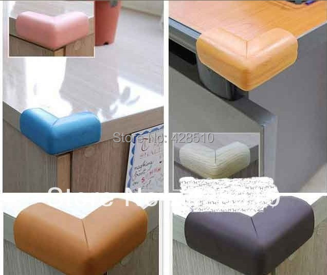 Newest Baby Kids Children Safety Table Desk Corner Protector Corner Guards 16pcs lot Free Shipping