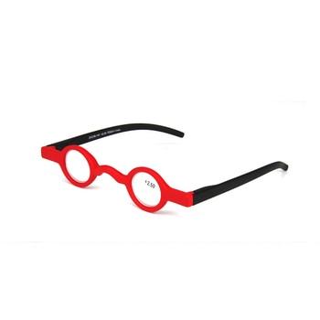 Zilead Retro Round Small Frame Reading Glasses Ultralight Clear Lens Presbyopic Glasses Eyewear Frame Unisex For Elder Gifts
