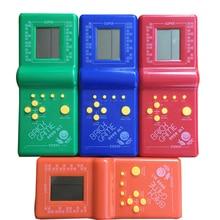 2.7 어린 시절 레트로 클래식 테트리스 핸드 헬드 게임 플레이어 전자 GameToys 포켓 게임 콘솔 게임 플레이어