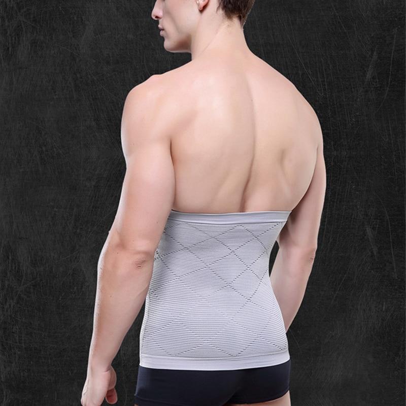 NEW Men Slimming Belt Belly Men's Body Shapers Abdomen Fat Burning Weight Loss Tummy Waist Sweat Corset Trainer Shapewear