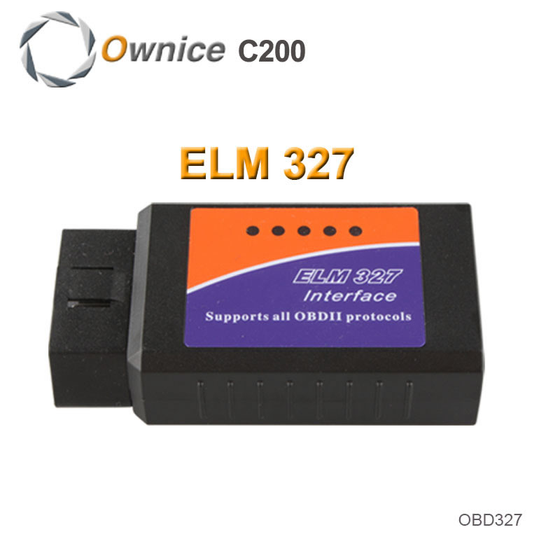 Only for Ownice Car DVD 2015 New ELM327 USB ELM 327 OBD2 / OBDII V1.5 Auto Diagnostic Interface Scanner Code Reader