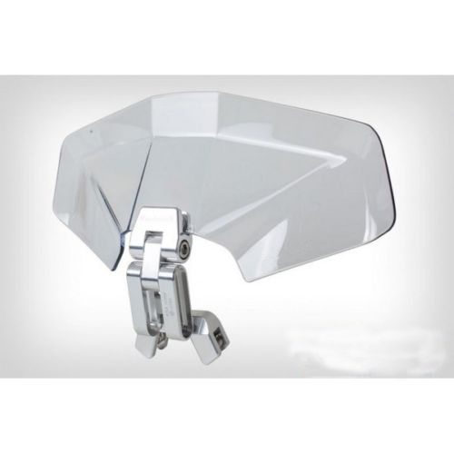 Universal Adjustable Windscreen Wind Deflector Transparent Variable Spoiler Blade For BMW F 800 GS E 8