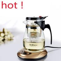 High Quality Kamjove Glass Gongfu Tea Maker Press AUTO OPEN Art Tea Cup Teapot With Infuser