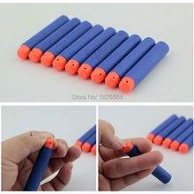 Navy Blue 100Pcs EVA Soft Head Refill Darts for Elite Series Blasters Bullet For Toy Gun 7.2cm