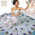 Павлин платье phoeni бамбук павлин танца костюм 6215 бесплатная доставка