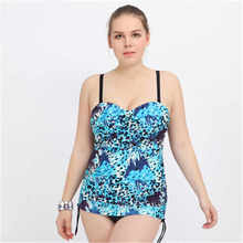 Floral One Piece Swimsuit Plus Size Swimwear Women 2017 Print Monokini Push Up Bathing Suits Dress Swiming Suits Maillot De Bain