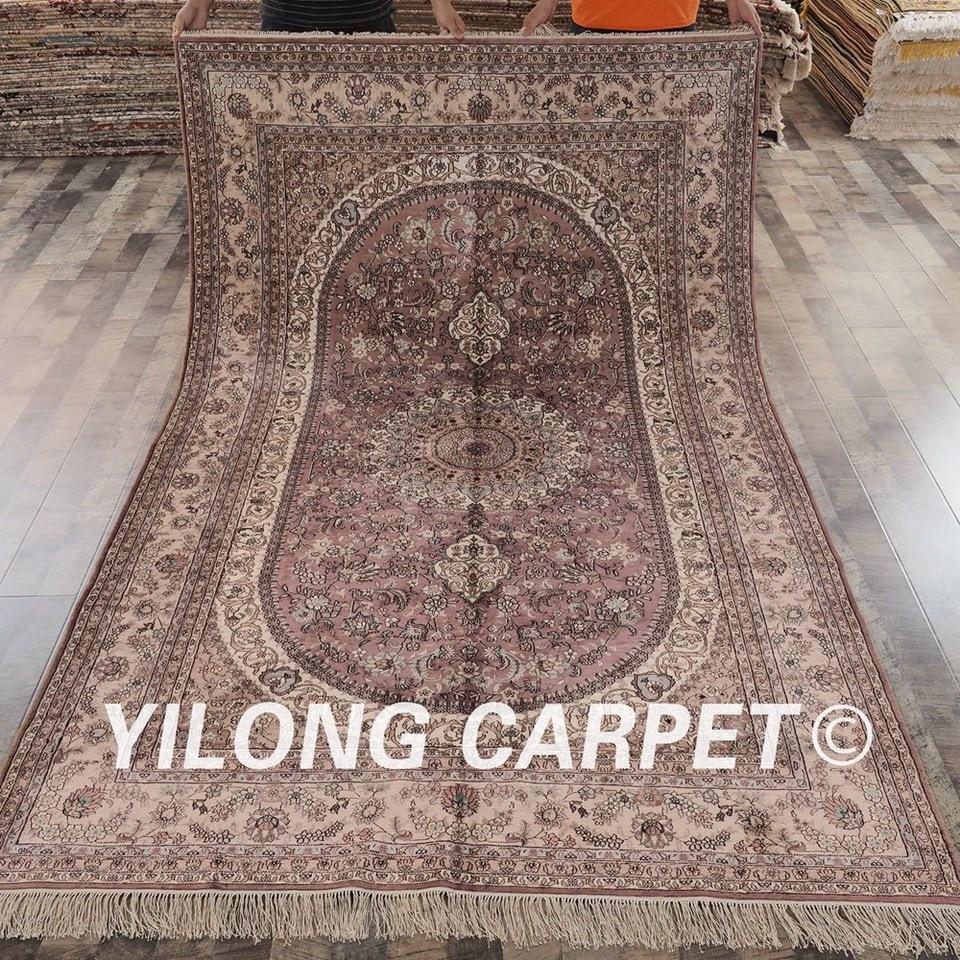 Yilong 6 X9 Antique Turkish Silk