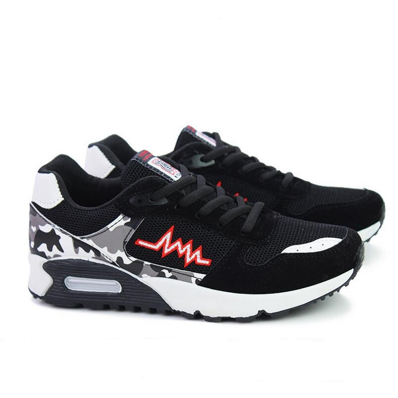 Mens Fashion Air Mesh Shoes Spring Autumn Lace Up Outdoor Casual Shoes Fashion Breathable Flats Male Skate Walking Shoe