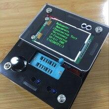 Русский DIY наборы транзисторов тестер LCR диод емкость ESR частотомер генератор сигналов DS18B20 DHT11 ИК Тест