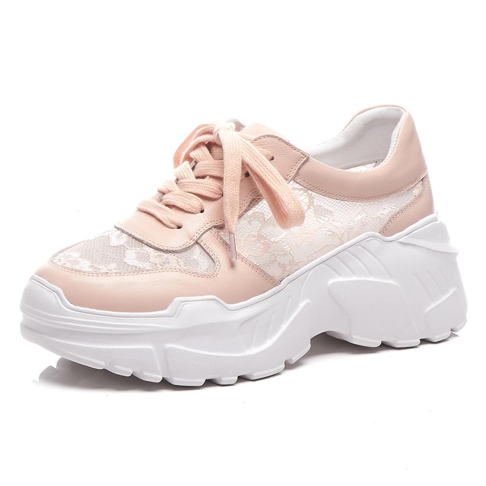Women Sneakers Leather Summer