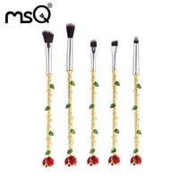 Makeup Brush Set New Design Synthetic Hair Foundation Contour Brushes Fashion Rose Shape Cosmetics Brush Pinceis