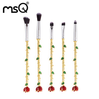 Makeup Brush Set New Design Synthetic Hair Foundation Contour Brushes Fashion Rose Shape Cosmetics Brush Pinceis