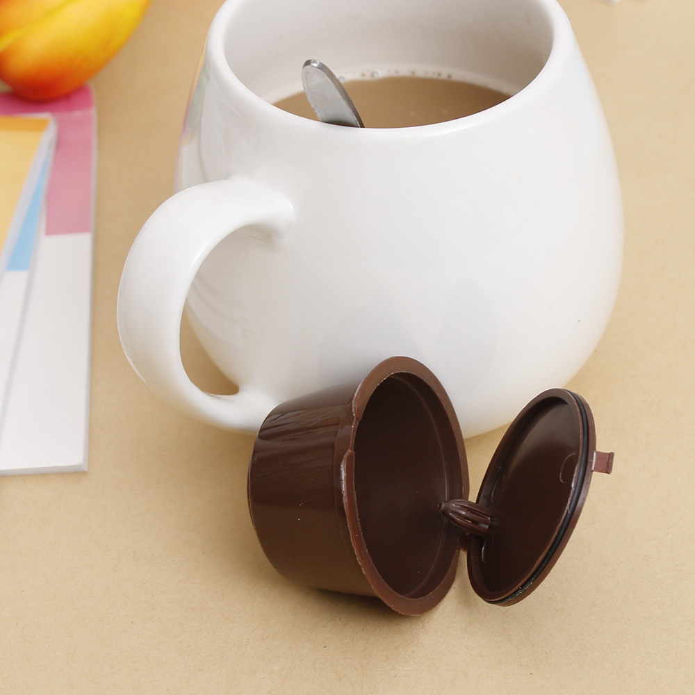 Coffee Capsule Plastic Capsule Refillable Reusable Compatible With Nescafe Dolce Gusto Refill Coffee Machine Home Tools
