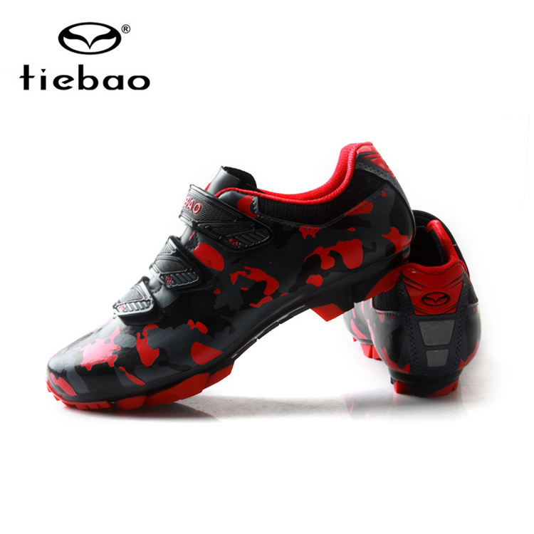 Tiebao New Cycling Shoes MTB Bike Self-Locking Shoes Racing Athletic Bicycle Sneakers Sapatilha Ciclismo Zapatillas Size 39-47 tiebao bicicleta mountain bike cycling shoes men sneakers bike riding sapatilha ciclismo mtb bicycle sneakers superstar shoes