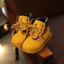 где купить Children's Martin Boots For Girls Boys Warm Snow Boots New Comfy Kids Winter Fashion Casual Plush Child Baby Toddler Shoes A776 по лучшей цене