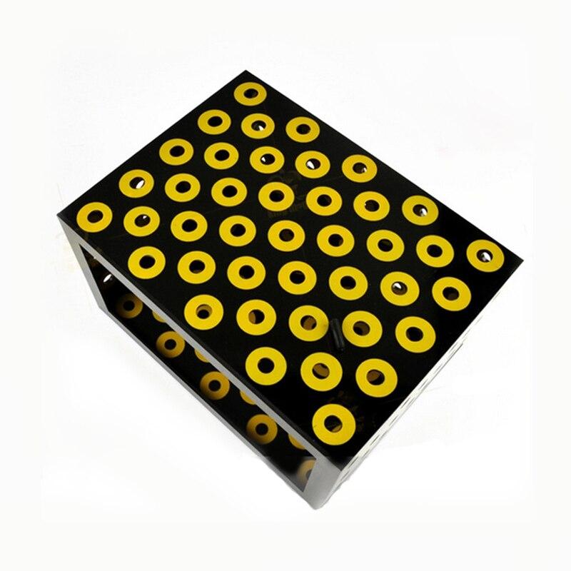 1 pièces boîte noire boîte mystérieuse scène tours de magie Illusion magicien professionnel tour magie Gimmick