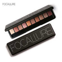 New Professional 10 Colors Set Women Waterproof Makeup Eyeshadow Palette Eyebrow Eye Shadow Powder Cosmetic with