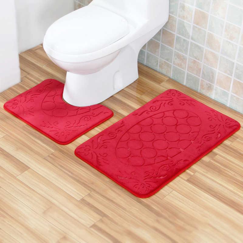 Zeegle Embossed Bathroom Bath Mat
