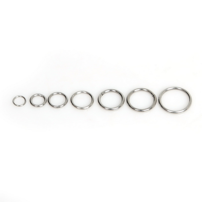 Free Shipping 200pcs/lot Stainless Steel Pretty Jump Ring JJewelry For DIY Finding Making free shipping 200pcs lot 2sc1359 c1359 to 92 transistor