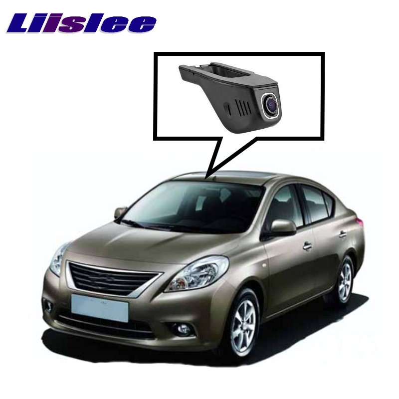 LiisLee Car Black Box WiFi DVR Dash Camera Driving Video Recorder For NISSAN Sunny Almera Versa N17 2011~2017 bigbigroad app control car wifi dvr for vw tiguan dual camera driving video recorder car dash camera car black box night vision